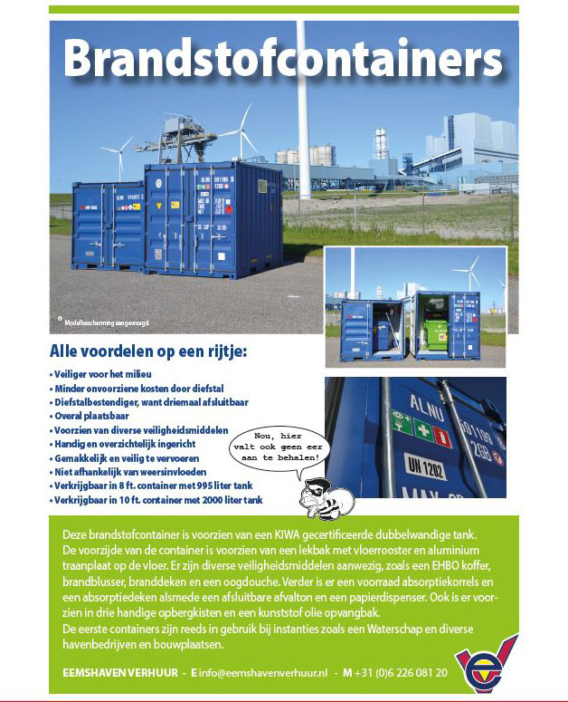 flyer brandstofcontainers